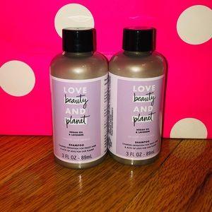 LoveBeautyPlanet lavender shampoo
